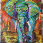 Training Wild Elephant Project - Harmony Thiessen- Goldenzen